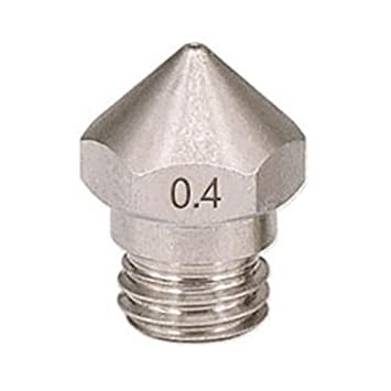 Cikuso 1 UNID Impresora 3D M7 Inoxidable MK10 Boquilla 0.4mm para 1.75mm Piezas de la Impresora 3D