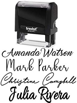 Signature Customizable Custom Personalized Inking