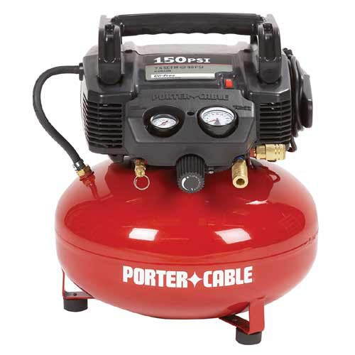 PORTER-CABLE Oil-Free UMC Pancake Air Compressor