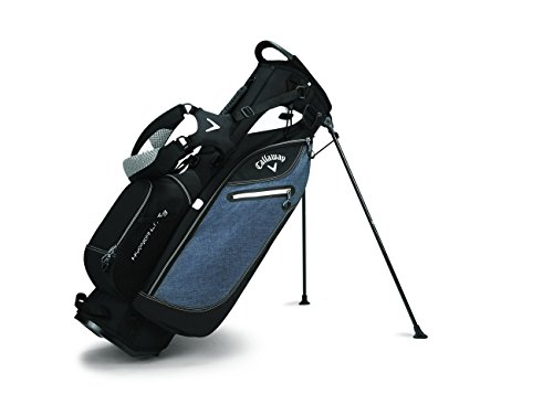 Callaway Golf 2017 Hyperlite 3 Stand Bag, Double Strap, Grey/Black/White