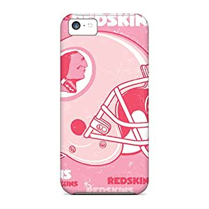 Awesome Washington Redskins Flip Cases With Fashion Design For Iphone 5c