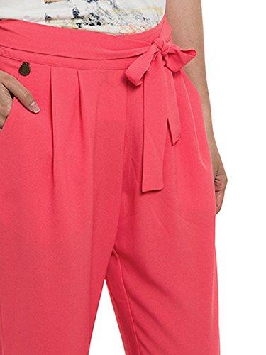 Smash Bankae, Pantalones para Mujer Rosa (Coral)