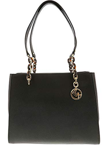 arge Leather Tote - Black ()