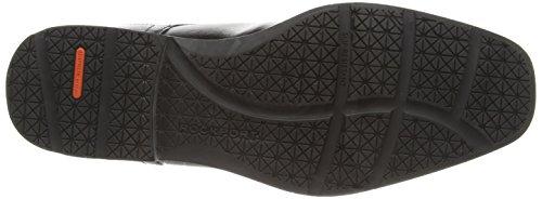 Rockport PLN TOE - zapatos con cordones de cuero hombre Negro (Schwarz)