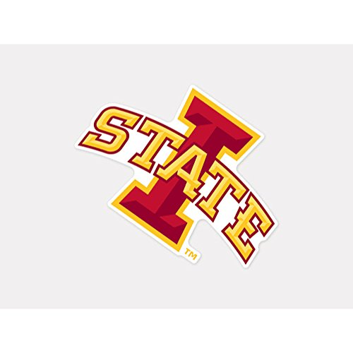 NCAA Iowa State University Perfect Cut Color Decal, 4