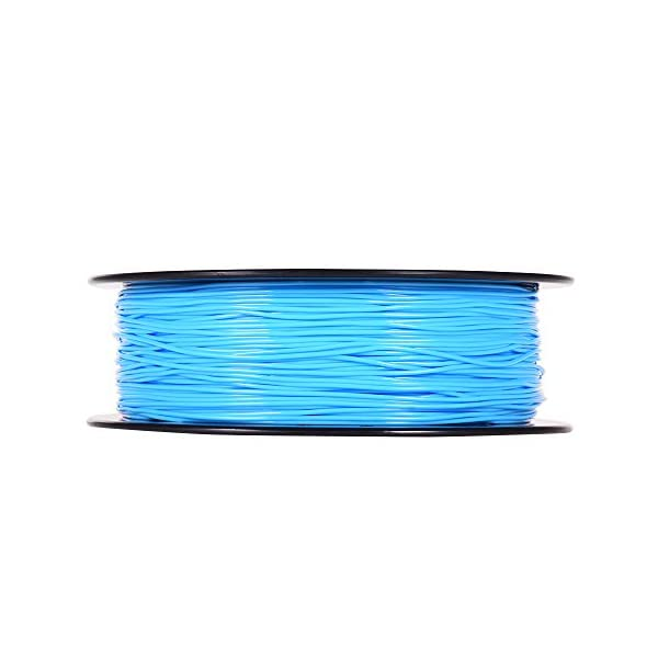 Blusea 1.75mm 1000g flexible tpu 3d printing filament, flexible tpu filament printing material supplies white, black, transparent for 3d printer drawing pens