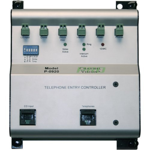 Channel Vision Telephone Entry Controller, 1-Door (P-0920) by Channel Vision [並行輸入品] B01LZGVBRL