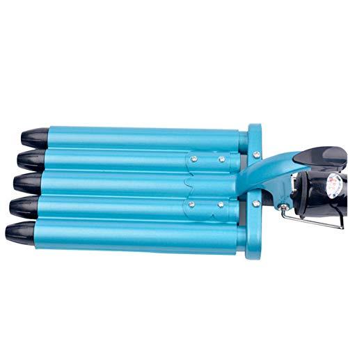 QWERVV hair curler Hair Styling Tools Hair Curling Iron Curler 5 Barrels Nano Titanium Ceramic Hair Curler Rollers Curling Wand Hair Wave Curler
