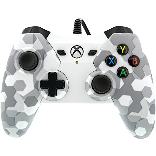 Cheap PowerA 1503454-01 Xbox One Wired Controller Arctic White Camo