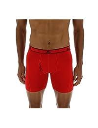 adidas Para hombre ropa interior bóxer elástico de algodón rendimiento leve (2 unidades).