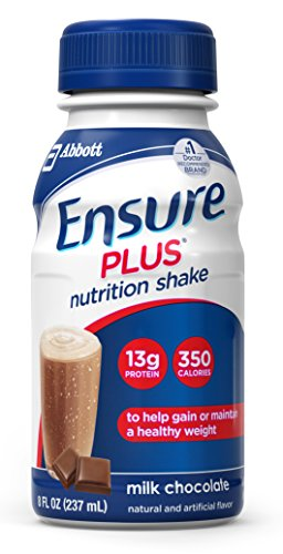 Ensure Plus Nutrition Shake Milk Chocolate 8 Ounces 24