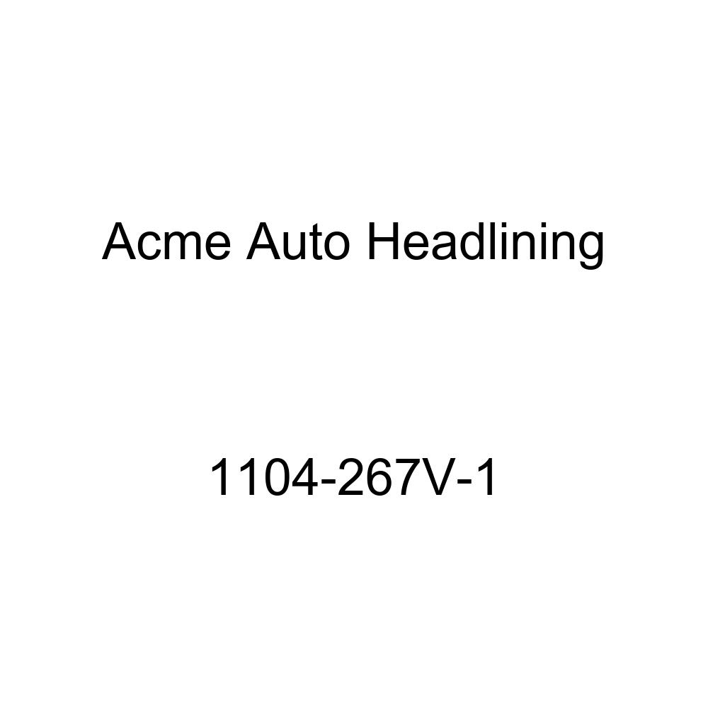 Acme Auto Headlining 1104-267V-1 Ivory Replacement Headliner 1936 Buick 80, 90 Series /& Cadillac 4 Door Sedan - 8 Bows