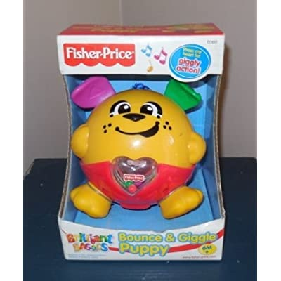 Fisher Price Bounce & Giggle Puppy Dog 2002: Toys & Games