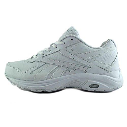 Walking Max D Grey V Ultra Shoe DMX Reebok White WD Women's a0gIx