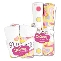 Dr. Seuss Bib & Burp Cloth Set