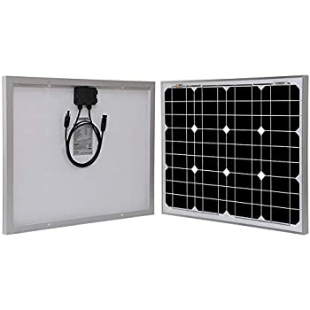 Amazon com : Renogy 50W 12V Monocrystalline Solar Panel High