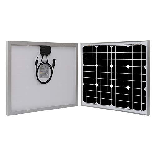 Richsolar 50 Watts 12 Volts Monocrystalline Solar Panel (50W)
