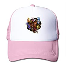 Five Nights At Freddy Hat Unisex-Adult Sports Cap Pink