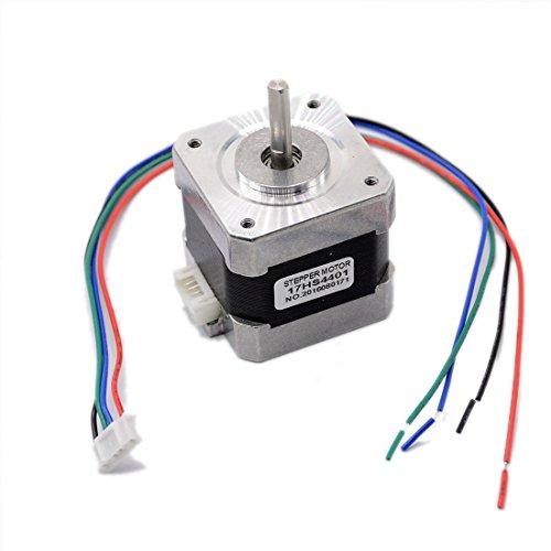 1pcs 4-lead Nema17 Stepper Motor 42 motor Nema 17 motor 42BYGH 1.7A (17HS4401) 3D printer motor and CNC by Ogry
