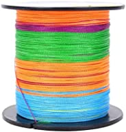 100 Meters Super Strong Fishing line 5 Color 4 Strands Braided PE Wire 10-80LB fishing Tackle AccessoriesCreat