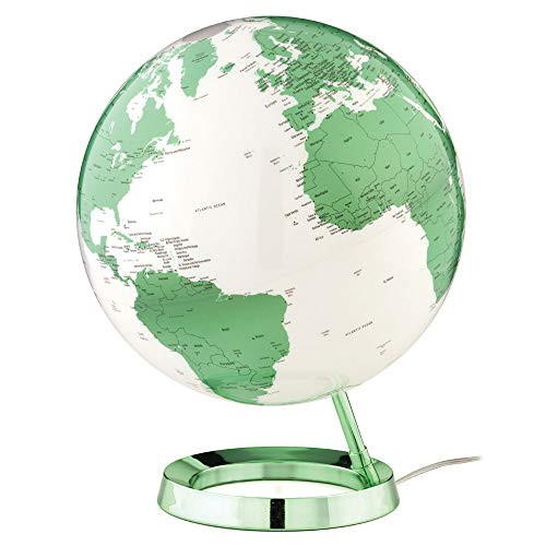 Waypoint Geographic Light & Color Designer Series 12-inch Illuminated Decorative Desktop Globe (Hot ()