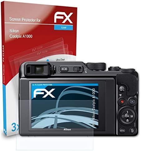 Atfolix Schutzfolie Kompatibel Mit Nikon Coolpix A1000 Kamera