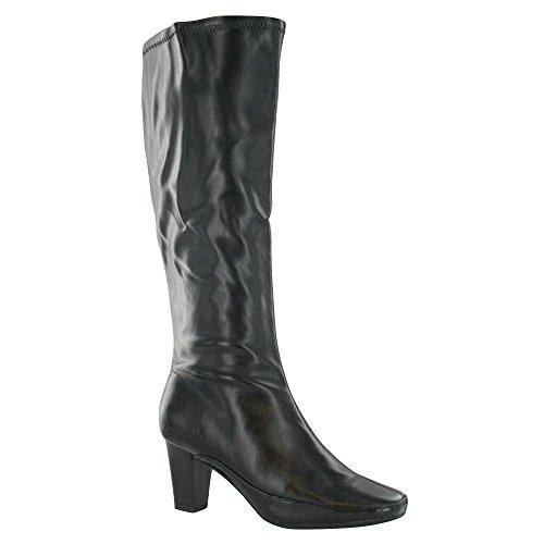 Boot 8 Ladies 39 Polpaccio Uk Usa F5826 Zip Eu On Taglia Sintetico Nero Casual Up Spot 6 Ra6xranqwY