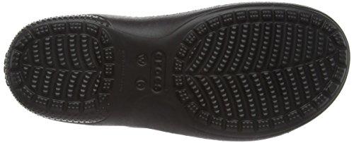 Black Femme W Lined Black Crocs Sabots Noir Freesail qY7IH
