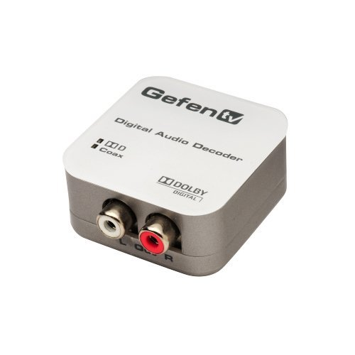 Gefen Digital Audio Decoder (GTV-DD-2-AA), Model: GTV-DD-2-AA, Electronics & Accessories Store
