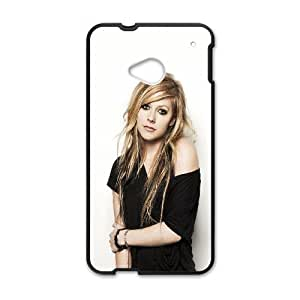 HTC One M7 Cell Phone Case Black_hg32 avril lavigne music star beauty FY1555861