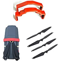4PCS Folding 8330F Quick-release Props Propellers +3D Printed Motor Blade Fixed Holder Protector Transport Protection for DJI MAVIC PRO (Pack of 2)