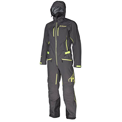 Klim Lochsa Men's One-Piece Ski Snowmobile Suit - Dark Gray / Large