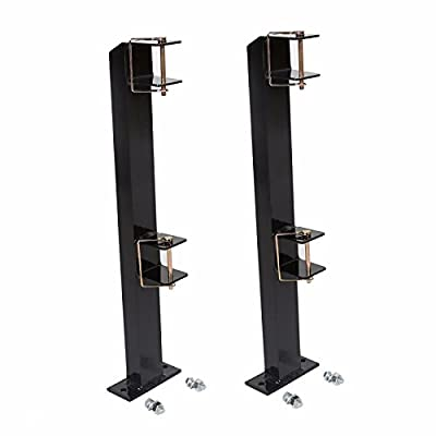MUEZAI 2 Places/Iron Trimmer Rack 1-1/2 Angle/Industrial Style