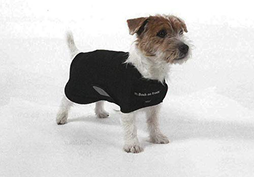 L 47 cm Back on Track® Hugo dog coat for small dogs, standard, Welltex®, ceramic fibre