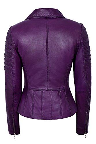 Biker Smart Blouson Femme Violet Range E8Eq4raR