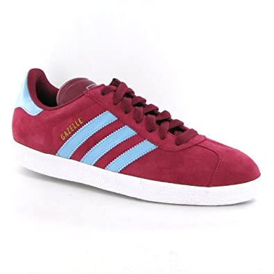 new styles 92443 f467d Adidas Gazelle 2 Red Suede Mens Trainers Size 9.5 US