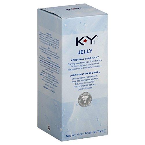 K-Y Jelly Personal Lubricant, 4 oz.