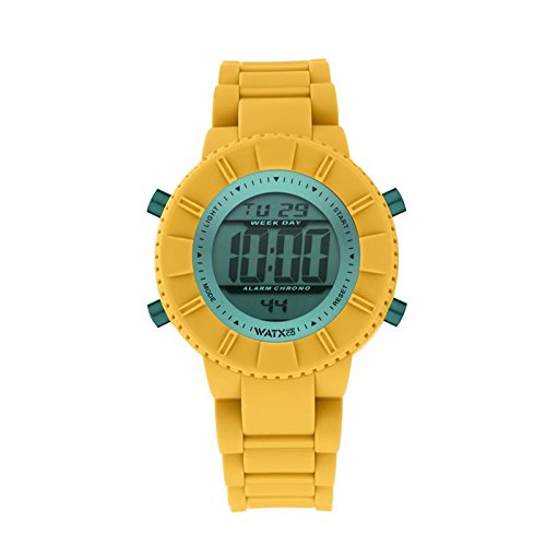 Reloj DIGITAL ATLANTIC MOSTAZA/VERDE. Reloj digital para niños y niñas con