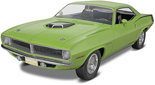 Revell '70 Plymouth Hemi Cuda 2N1 Plastic Model (Kit Plymouth)