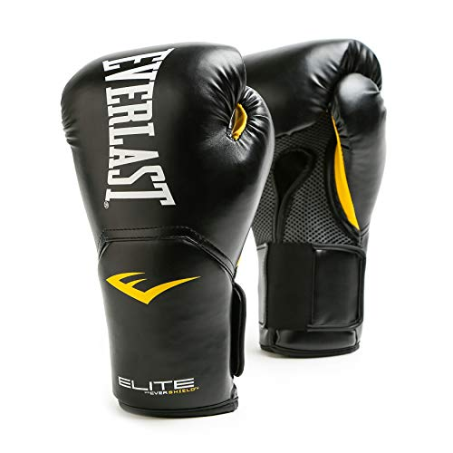 Everlast Elite Pro Style Training Gloves, Black, 12 oz
