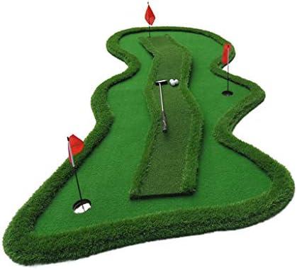 傾斜、変曲点のあるゴルフパターエクササイザ、,ゴルフパッティングシステム、インドアゴルフ練習、ゴルフパッティンググリーングラスルーツマット、ゴルフパッティンググリーンシステムプロフェッショナルプラクティス