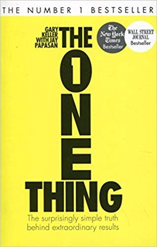 [By Gary Keller ] The One Thing: The Surprisingly Simple Truth Behind Extraordinary Results (Paperback)【2018】by Gary Keller (Author) (Paperback)