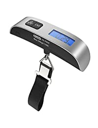 Dr.Meter Backlit LCD Display Electronic Balance Digital luggage Hanging Scale