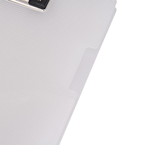 File Folder Clipboard Letter Size Arch File Cover Folder Clipboard Storage with Metal Clip Paper Writing Pad Holder Padfolio Documents Organizer Pad Portfolio Business School Office Conference by Ylucky (Image #2)