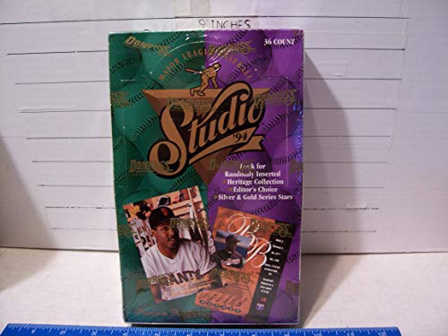 1994 DONRUSS STUDIO BASEBALL FACTORY SEALED BOX MINT (1994 Donruss Studio)