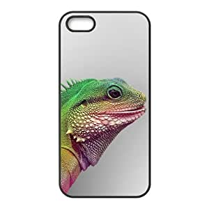 Okaycosama Funny IPhone 5,5S Cases Animal 32 for Teen Girls, Iphone 5s Case for Girls, {Black}
