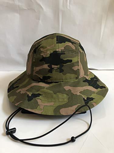 Under Armour Men's UA Airvent Bucket Hat Camo Downtown Green/Canvas Black - Canvas Cap Hat