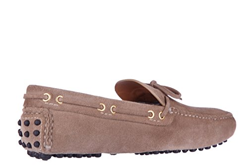 Car Shoe mocassins homme en daim beige