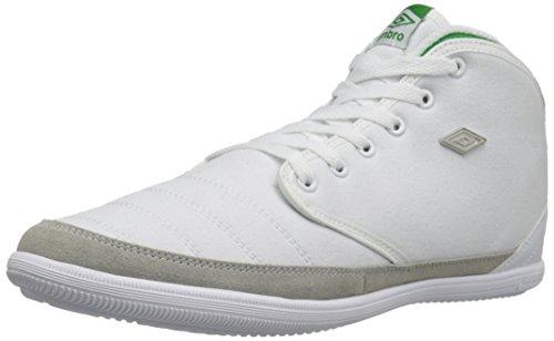 ker Fashion Sneaker, White/Green, 11.5 M US ()