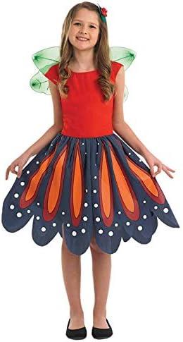 Fun Shack Roja Hada del Bosque Disfraz para Niñas - L: Amazon.es ...